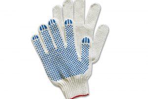 Рабочие хлопчатобумажные перчатки